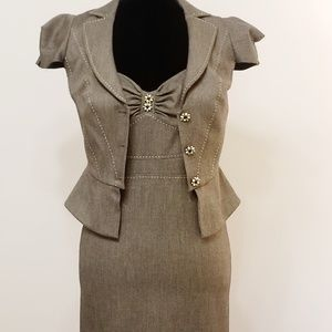 Rebecca Taylor Dress with Jacket